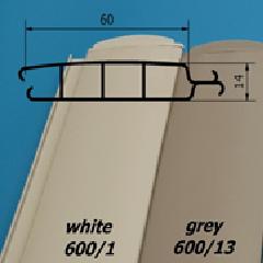 Lamelové - profil 600