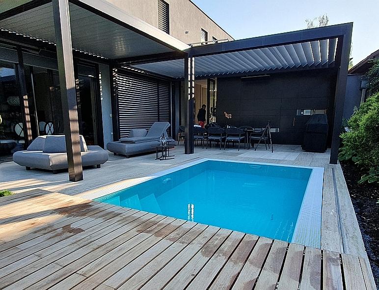 chete vlastniť <br /> nový bazén?