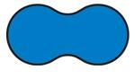 Základné tvary bazénov